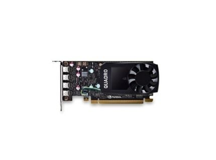 Dell NVIDIA® Quadro® P1000 4GB GDDR5 PCI Express 3.0 4xmini DP